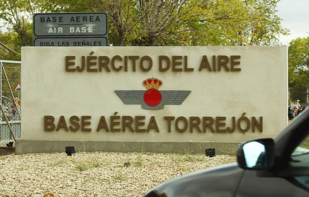 El coronavirus, en Defensa: dos militares de la base aérea de Torrejón dan positivo