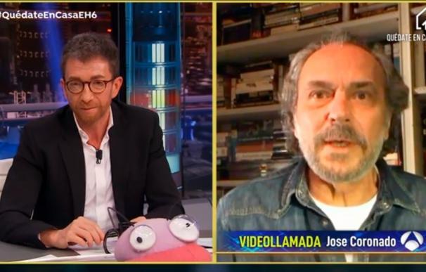 """José Coronado en 'El Hormiguero': """"Es el confinamiento deseado para mí""""."""