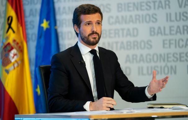 Pablo Casado, líder del PP