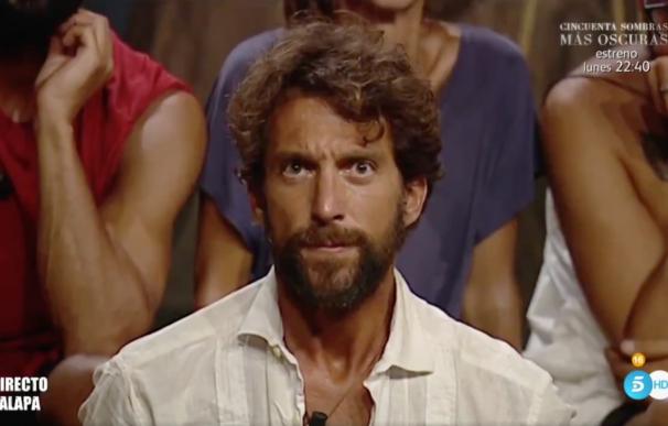 Antonio Pavón, obligado a abandonar 'Supervivientes' por prescripción médica.