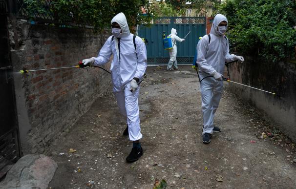 Coronavirus pandemia limpieza