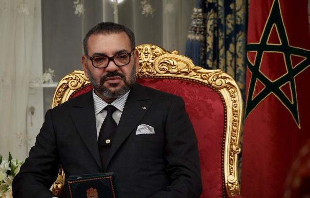 Rey Mohamed VI de Marruecos