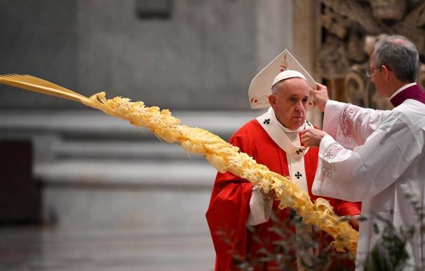 La petición del Papa al inicio de Semana Santa: sentíos llamados a jugaros la vida