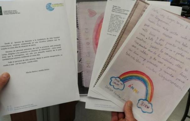 Cartas a pacientes con coronavirus