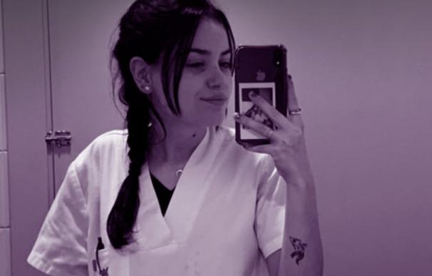 María, auxiliar enfermería