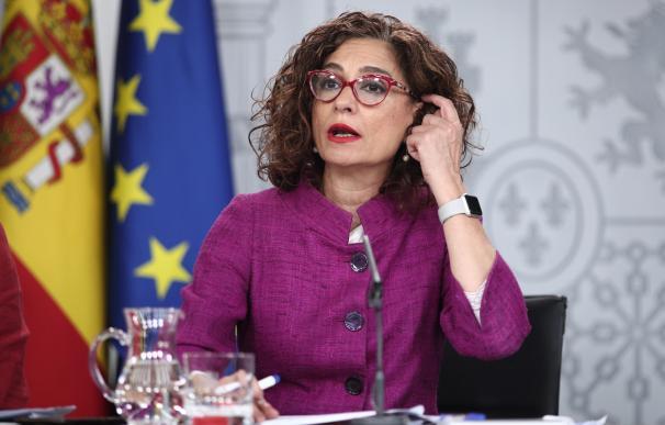 María Jesús Montero, ministra de Hacienda y Portavoz