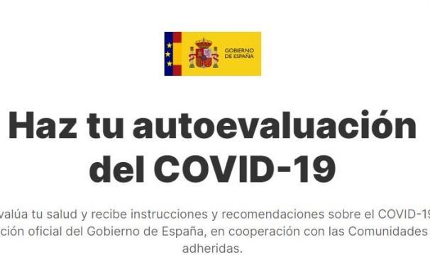 La aplicación oficial del Gobierno para el autodiagnóstico del COVID-19