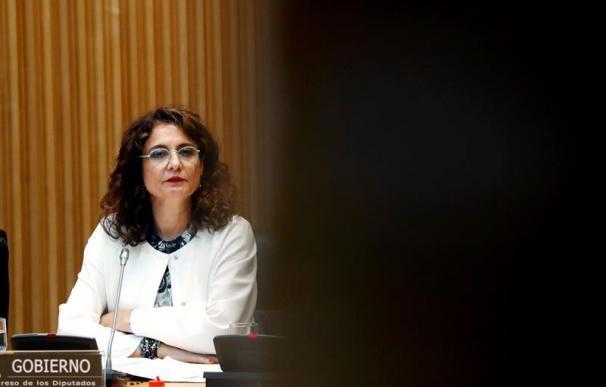 Fotografía María Jesús Montero sombras / EFE