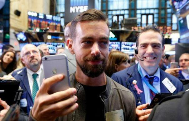 El CEO de Twitter, Jack Dorsey, en Wall Street.