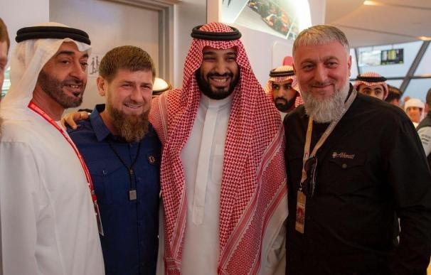Líder de Chechenia./ EP