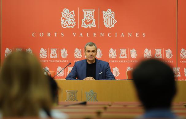 El síndic de Ciudadanos (Cs) en Les Corts valencianas, Toni Cantó,