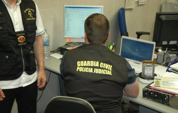 """La Guardia Civil detuvo en 2012 a una veintena de personas en Euskadi en operaciones contra la """"ciberdelincuencia"""""""