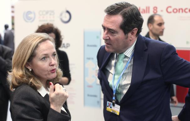 Calviño y Garamendi Europa Press
