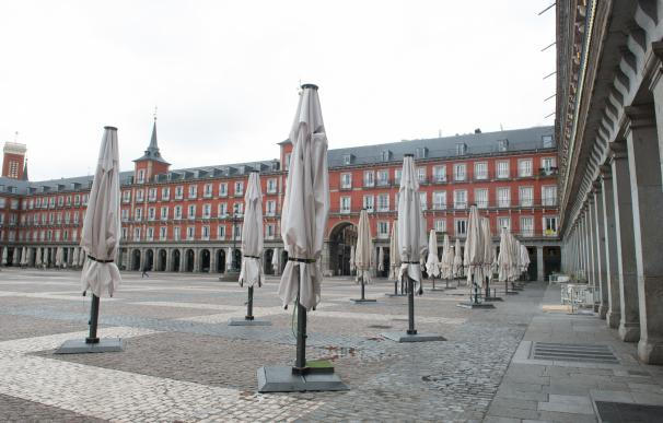 Plaza Mayor Madrid vacía