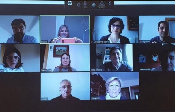 El Ayuntamiento de L'Hospitalet de Llobregat (Barcelona) se reúne telemáticamente con sindicatos y empresas para abordar los efectos económicos de la crisis del Covid-19
