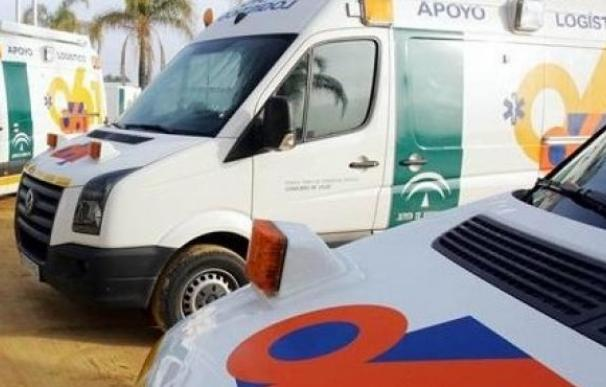 Ambulancia Almería./ EP