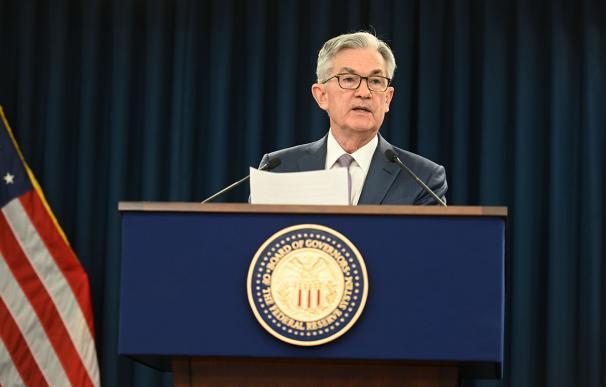Jerome Powell preside la Fed en la mayor crisis desde 2008.
