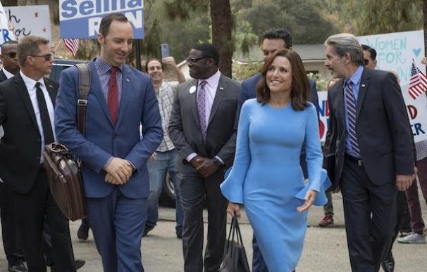 Una imagen de 'Veep', la parodia muy real sobre política de HBO
