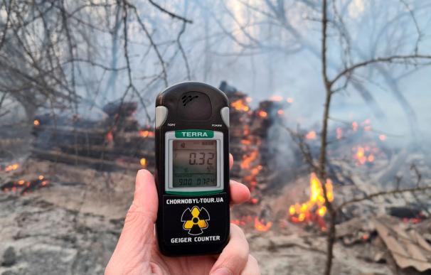 Incendios Chernóbil
