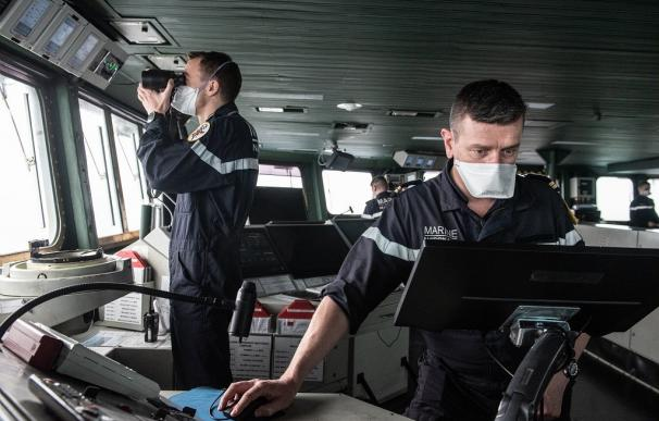 Detectan 50 casos de COVID-19 en el portaaviones francés Charles de Gaulle