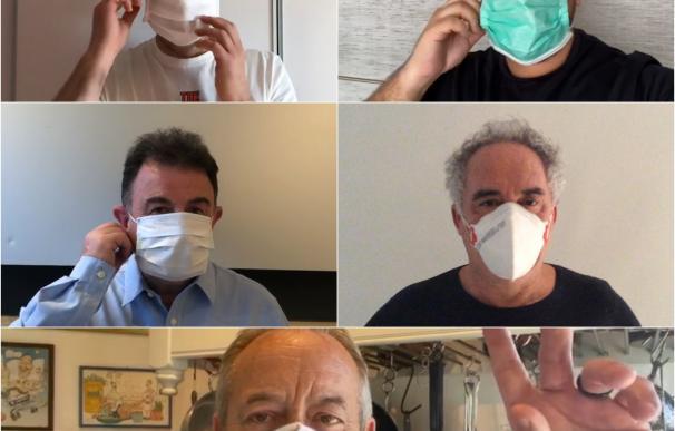 Los mejores chefs de España se unen contra el coronavirus. / EP