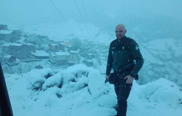 Guardia Civil Rubén Alonso en Sotres