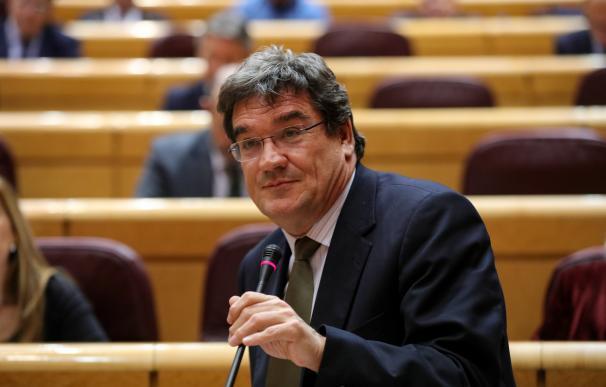 El ministro de Seguridad Social, Inclusión y Migraciones, José Luis Escrivá Belmonte