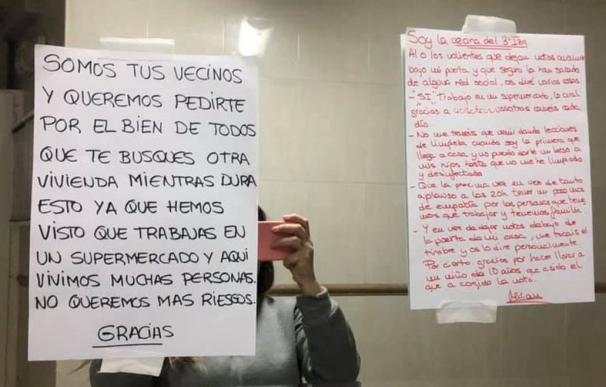 Vecinos 'incómodos': acoso a los héroes en primera línea