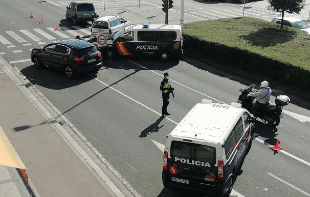Control policial./ EP
