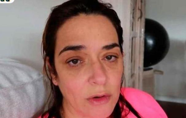 Toñi Moreno, desbordada en la cuarentena