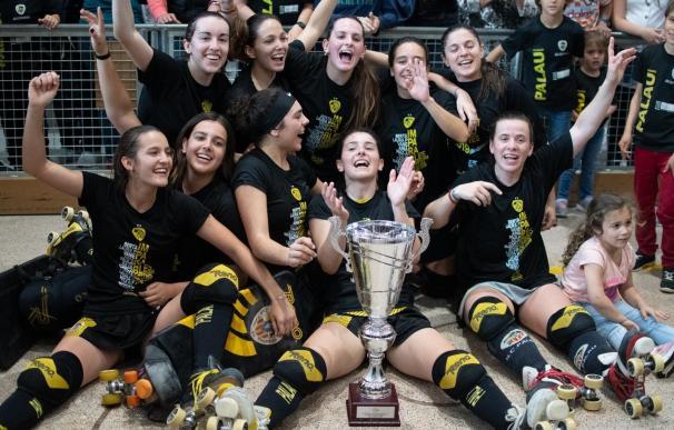 El Generali HC Palau de Plegamans se proclama campeón de la OK Liga Femenina de hockey patines