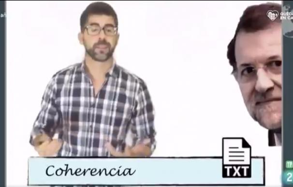 Programa aprendamos en casa, captura Rajoy