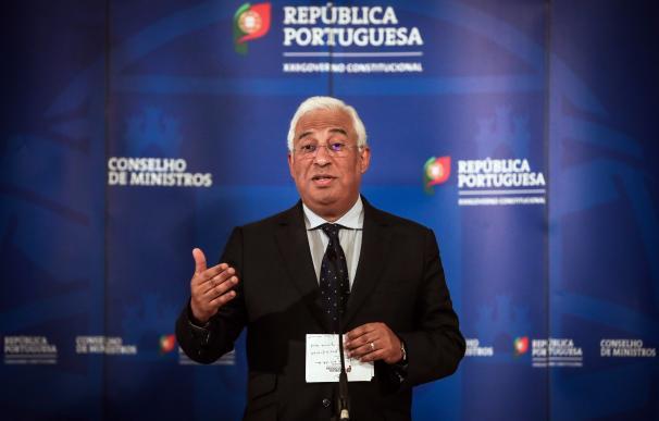 Fotografía de Antonio Costa, primer ministro de Portugal.