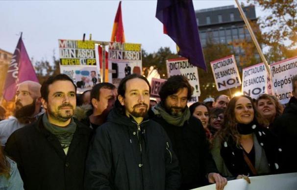 Las críticas contra la banca han sido la mejor palanca para el salto a la fama del populismo de izquierdas en España