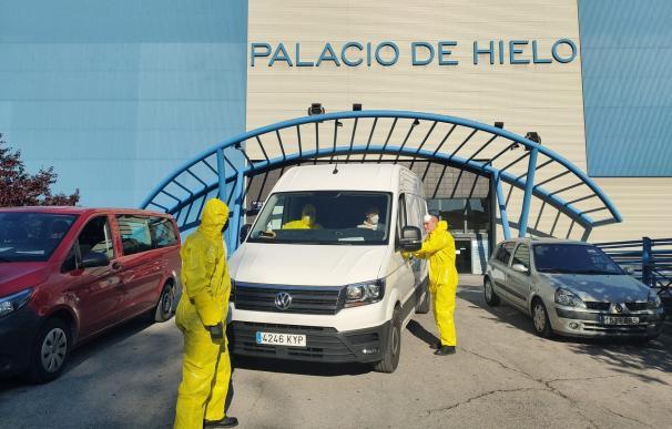 La UME se ha encargado también del traslado de cuerpos desde las morgues de Madrid