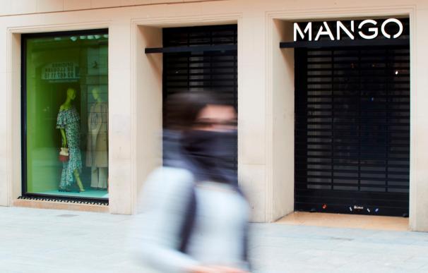 Tienda de Mango cerrada
