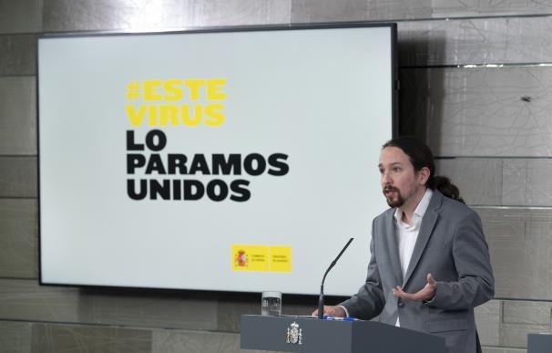 Iglesias impone su manual económico y asciende entre los golpeados por la crisis