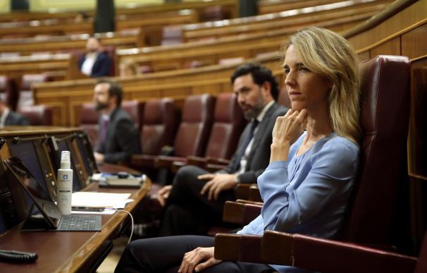 Cayetana Álvarez de Toledo en el Congreso de los Diputados