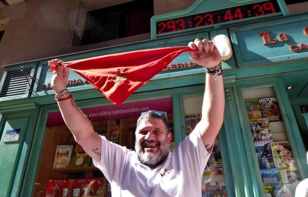 Carmelo Buttini, corredor de San Fermín