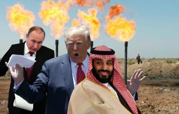Putin, Trump y Bin Salman, la nueva troika de poder del petróleo.