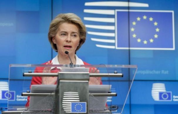 Ursula von der Leyen, presidenta de la Comisión Europea EFE