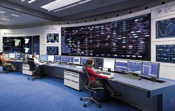 Centro de control de REE en San Sebastián de los Reyes (Madrid).
