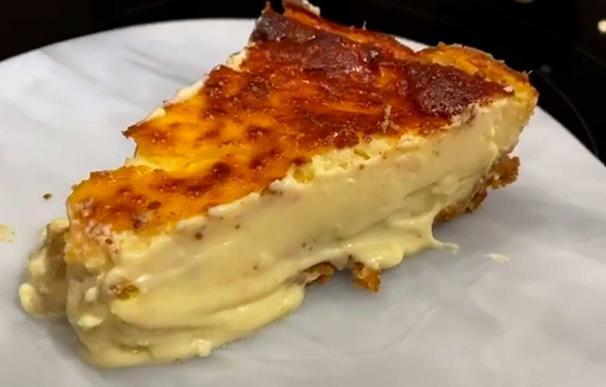 Tarta de queso Cristina Pedroche