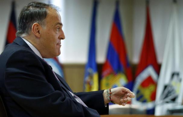 El presidente de la LFP, Javier Tebas / EFE