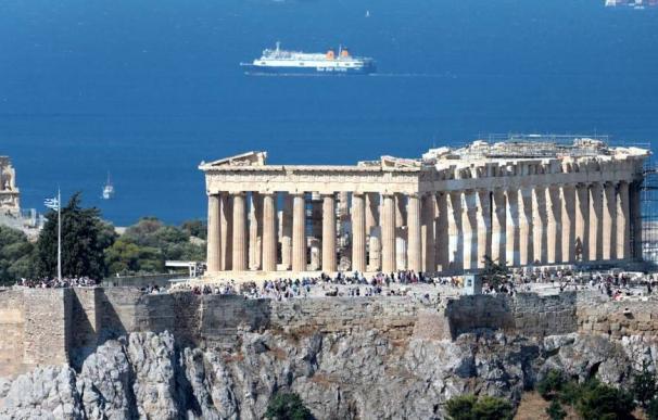 El Partenón en el Acrópolis de Atenas