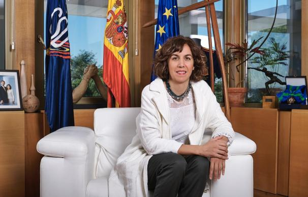 La presidenta del CSD, Irene Lozano