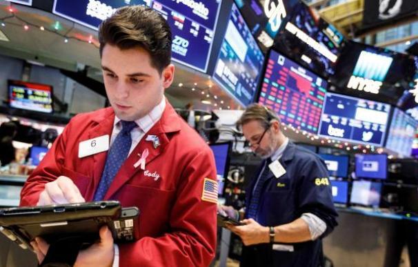 Imagen de un 'trader' en la Bolsa de Nueva York / EFE