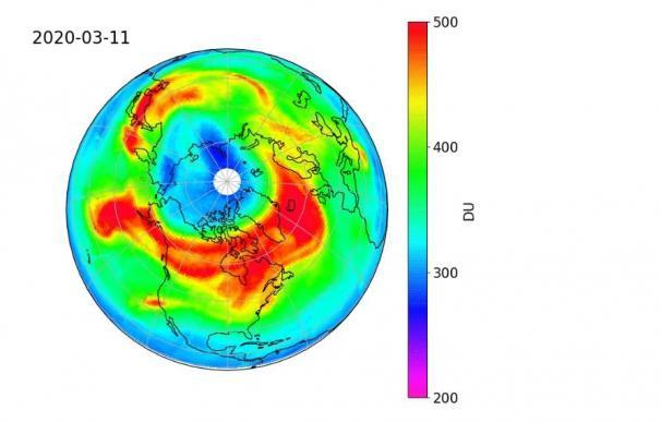 Detectan un inusual agujero en la capa de Ozono