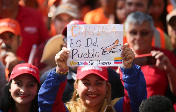 Protestas por Conviasa Venezuela