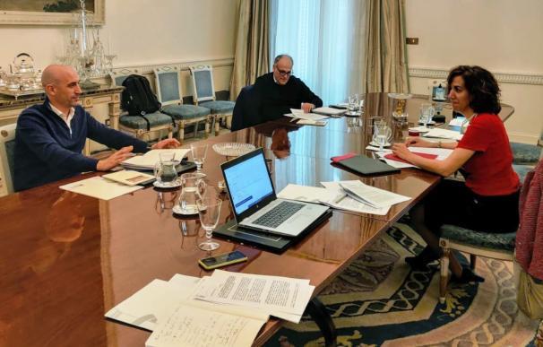 Reunión CSD, Liga y RFEF